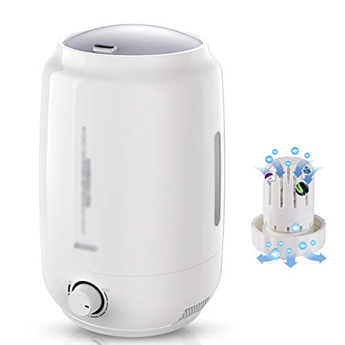 Qi Tai Humidificador de Aire del hogar Humidificador doméstico Blanco Mudo Gran Capacidad Dormitorio de la Oficina Aire Acondicionado purificación de Aire pequeña Mini máquina de aromaterapia