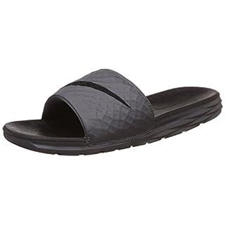 Nike Men's Benassi Solarsoft Slide Beach & Pool Shoes, (Dark Grey/Black 090), 6 UK