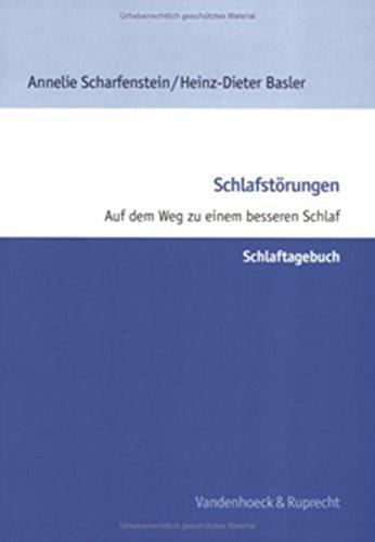 Schlafstörungen, Schlaftagebuch (Theologie Fur Zwischendurch)