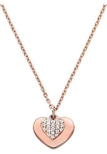 Michael Kors Damen-Halskette Love Rosé MKC1120AN791