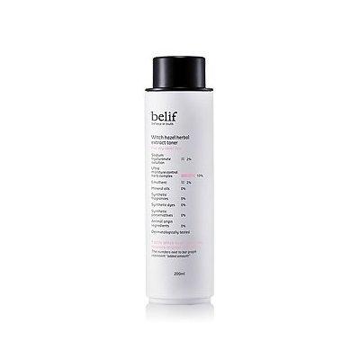 belif, Witch Hazel Herbal Extract Toner 200ml (for dry skin, moisturizing)