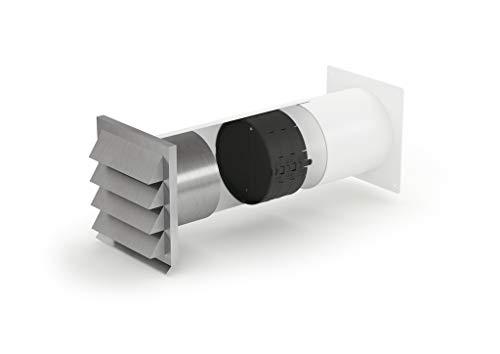 E-Jal 150 Mauerkasten inkl. THERMOBOX Wärmerückhaltesystem/Rundrohranschluss / Compair flow 150 (System Ø 150)