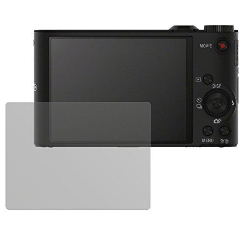 dipos I 6X Schutzfolie matt passend für Sony Cybershot DSC-WX350 Folie Displayschutzfolie