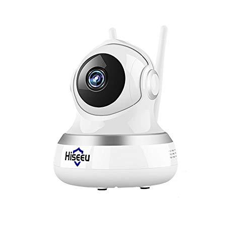 HJFGIRL Baby Monitor, WiFi Cámara IP Videovigilancia P2P Seguridad para el hogar Antena de Doble Ganancia...