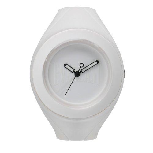 Bernex EV-209-003 - Reloj analógico unisex de plástico Resistente al agua blanco
