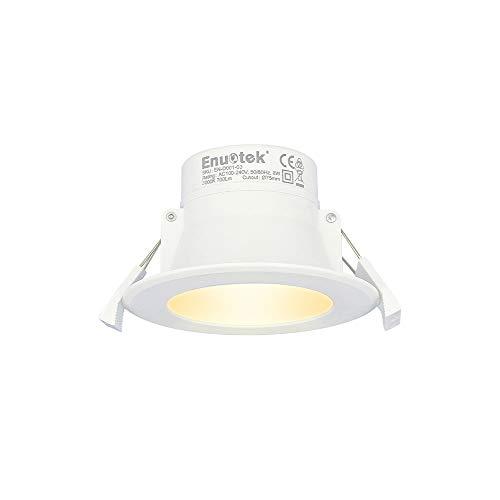 Lampara Plafone LED Foco Empotrable de Techo 8W Downlight LED Luz Calida...