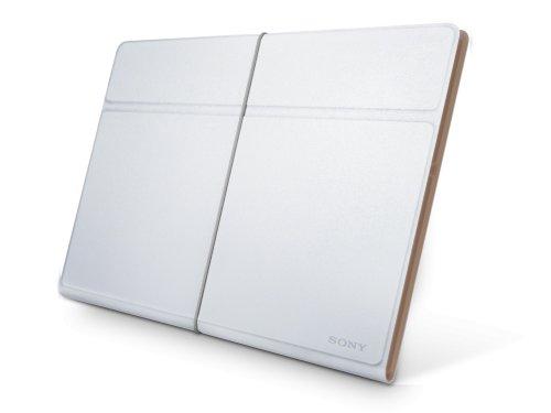 Sony SGPCV3/W.AE Lederschutzhülle für XPERIA Tablet S weiß/beige