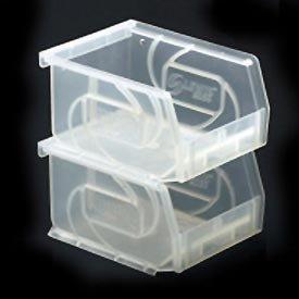 Impilabile in plastica, trasparente, 4-1/8