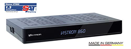 Vistron VT860 Twin HDTV Twin Kabelreceiver für Vodafone, Unitymedia, Pyur, Telecolumbus, M-Net