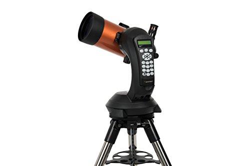 Celestron Nextstar 4SE - Telescopio computarizado con diámetro de 102 mm, negro y naranja