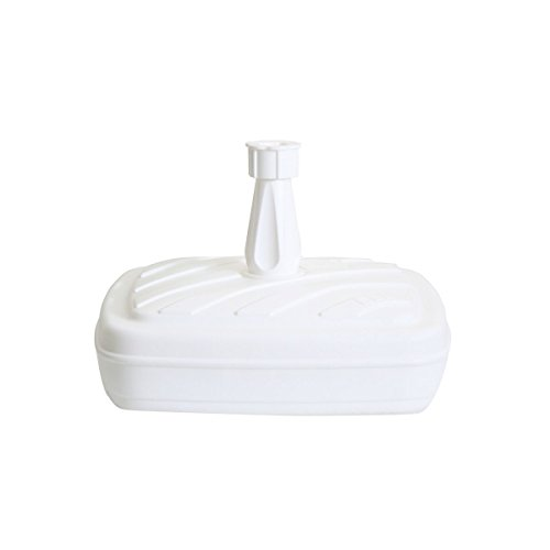 greemotion 462400.0 Base para Sombrilla, Blanco, 42x42x25 cm