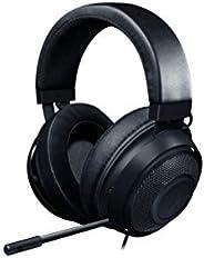 Razer Kraken Gaming Headset: Lightweight Aluminum Frame, Retractable Noise Isolating Microphone, For PC, PS4,