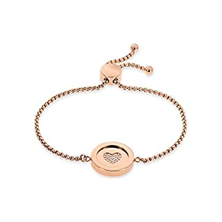 GMK Collection by CHRIST Damen-Armband GMK Collection Edelstahl 24 Zirkonia One Size, rosé