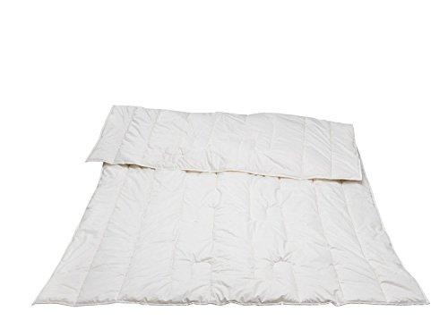 Traumina Exclusive Bambus Bettdecke solo - Wärmeklasse 2 155x220 weiß (Bambus-bettdecke)