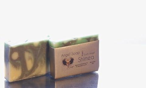 Earth Angel Shimea Natur Handgemachte Seife mit Pfefferminze für Dermatitis, Akne