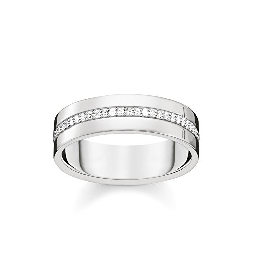 Ringe Gold Männer Für Verheiratet (THOMAS SABO Damen Ring 925er Sterlingsilber TR2118-051-14)