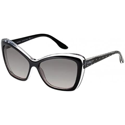 Max&Co. - MAX&CO.182/S, Oversize, acetato, donna, BLACK CRYSTAL BLACK SPOTTED