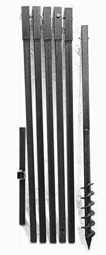 MWS-Apel 70 mm 6 Meter Erdbohrer Brunnenbohrer Handerdbohrer Erdlochbohrer Brunnenbau Pfahlbohrer brunnenbohrgerät