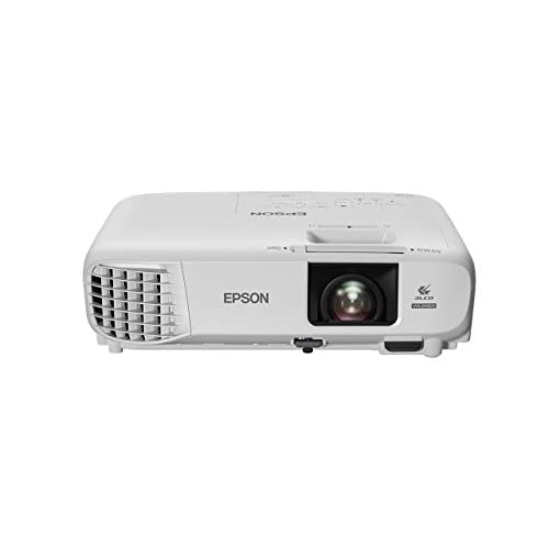 31LI76OKnVL. SS500  - Epson EB-U05 3LCD, Full HD, 3400 Lumens, 300 Inch Display, Gaming & Home Cinema Projector - White