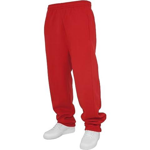 Urban Classics UK007 Kids Sweatpants Pantalone tuta bambino RED 10