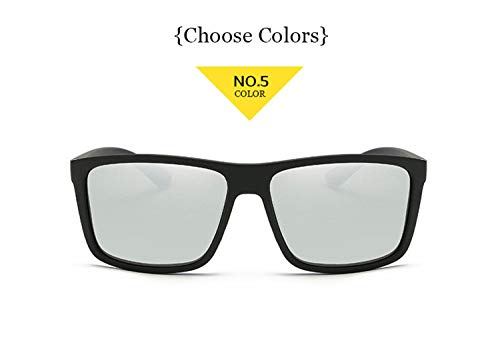 AOCCK Sonnenbrillen,Brillen, New Men Polarized Sunglasses For Driver Safety Driving Protect Eye Glasses Mens Sun Glasses Popular Brand Designer NO 5