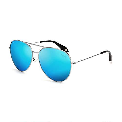 SCJS Männer Frauen Mode Sonnenbrillen Fahren Polarisierte Sonnenbrille 100% UV400 Schutzbrille (Farbe: C)