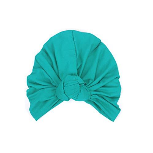 juqilu Muslimische Frauen Kopftuch Wrap Cap Kopf Cap Indien Einfarbig Turban Hut...