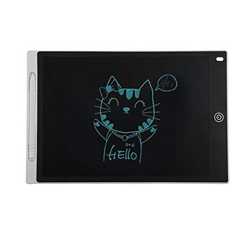 Preisvergleich Produktbild LCD Writing Tablet-Hillrong 12 Zoll LCD-Zeichentablett Schreibtafel Grafikkarte Notizen Erinnerung (Weiß)