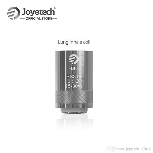Joyetech Cubis BF SS316 Sub Ohm Coils - 0.5 Ohm For Cubis eGo Aio Kit Stainless Steel