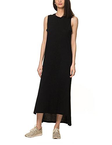 cheap-monday-womens-twine-womens-black-maxi-dress-in-size-m-black