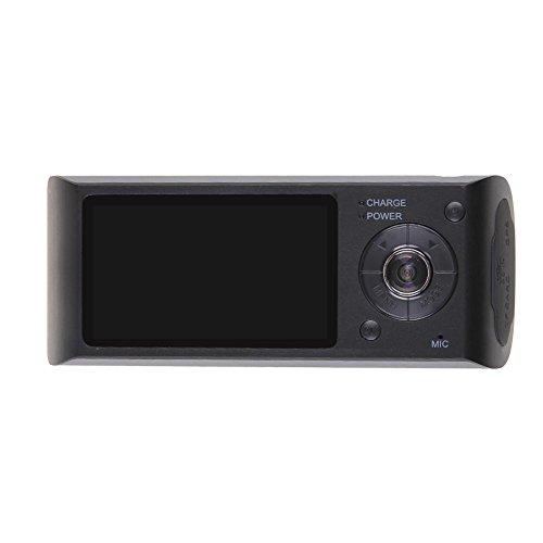 Prettygood7 Dual Lens GPS Logger Auto DVR Armaturenbrett Kamera Video Recorder Loop Recording - Digital Video Recording Dvr
