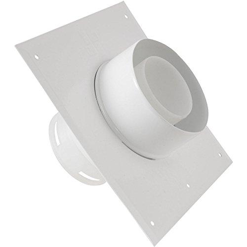 Plaque plafond C9 avec tuyau 15cm diamètre 80/125mm réf 445780