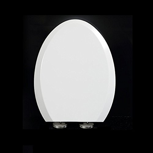 Toilet Seat U V O-Type Universal Asiento De Inodoro Empotrable Antibacteriano Cubierta...