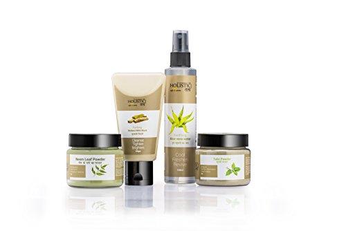 Holistic Tatv Skin Clear Essential Kit For Oily-Acne Blemish-Prone Skin