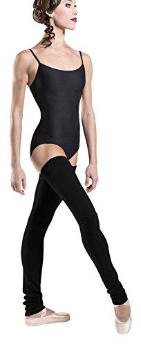 Wear Moi Cristallo–Ghette Donna, Donna, Cristal, Nero, FR : M (Taille Fabricant : M/L)