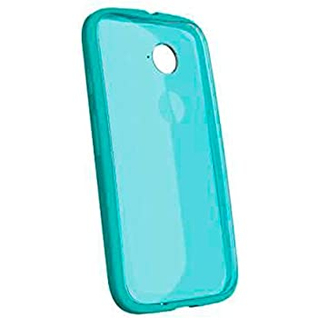 Motorola Grip Shell Clip-On Case Cover for Moto E 2nd Generation - Turquoise