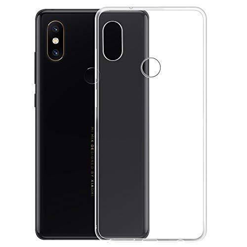 cookaR Xiaomi mi Mix 2S hülle transparent Handyhülle, Ultra Dünn Soft Silikon Crystal Clear Schutzhülle für Xiaomi mi Mix 2S case Cover. Xiaomi mi Mix 2S case Cover(transparent)