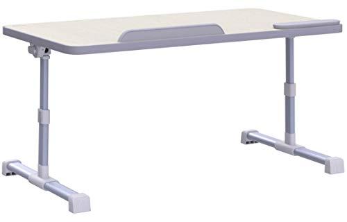 MAPUX Multifunktionstisch Tragbar Höhenverstellbar und Winkelverstellbar Laptoptisch Laptopständer Betttisch NoteBooktisch Bücherständer für Sofa, Bett, Terrasse, Balkon, Garten usw.