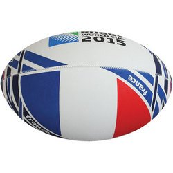 RWC 2015 Official France Flag Rugby Ball from Gilbert