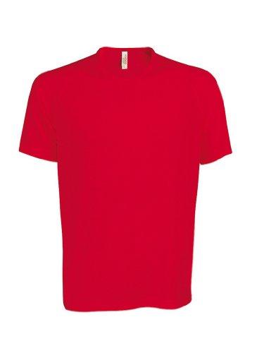 Funktionelles Sport T-Shirt Red
