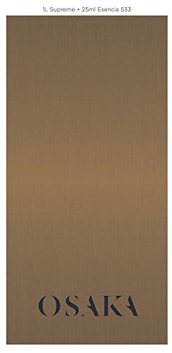 Pinturas decorativas, estuco veneciano, efecto arena, esmaltes, estucos, metalizados, tierras, ceras etc. OSAKA Profesional para dar efectos decorativos elegantes al interior de tu casa. (1L Esmalte Agua Supreme + 25ml Esencia 533)
