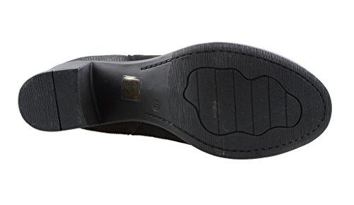 Eyekepper Chaussure fashion femme demoiselle - chaussures botte a talon mf noir
