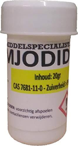 Kaliumiodid 20g (Kaliumjodid KI2 >99.9%)
