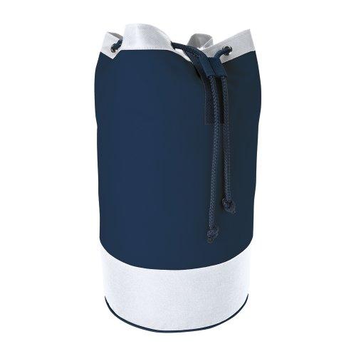 Impermeabile borsa stile marinaio di cordone - spalla Zaino borsone - nuotata palestra Blu