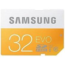 MKlife. Samsung Electronics Evo UHS-1SDHC tarjeta de memoria–naranja + blanco (32GB/Clase 10)