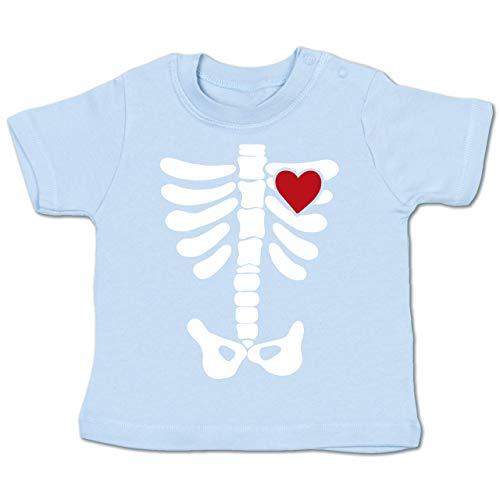 Anlässe Baby - Skelett Herz Halloween Kostüm - -