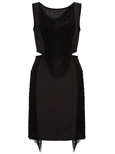 Dissa® SY22430 femme sexy robe mini Noir