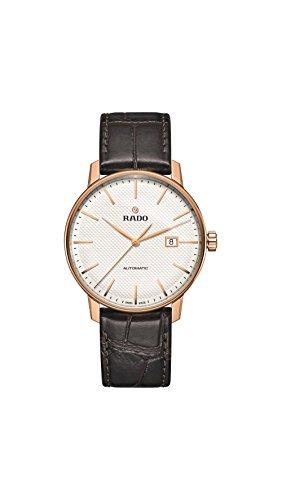 RADO COUPOLE Classic Herren-Armbanduhr 41MM Armband Leder AUTOMATIK R22877025