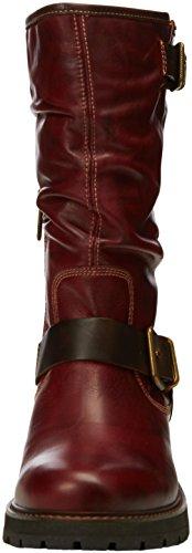 Pikolinos Avila W6h_i16, Bottes femme Rouge - Red (Arcilla)