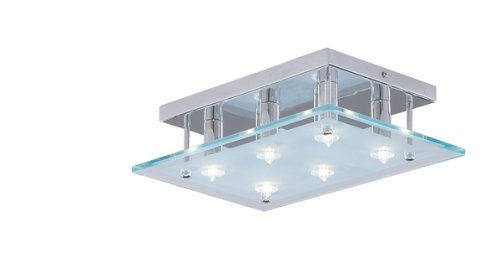 Dallas 6 Light Semi-Flush Ceiling Light